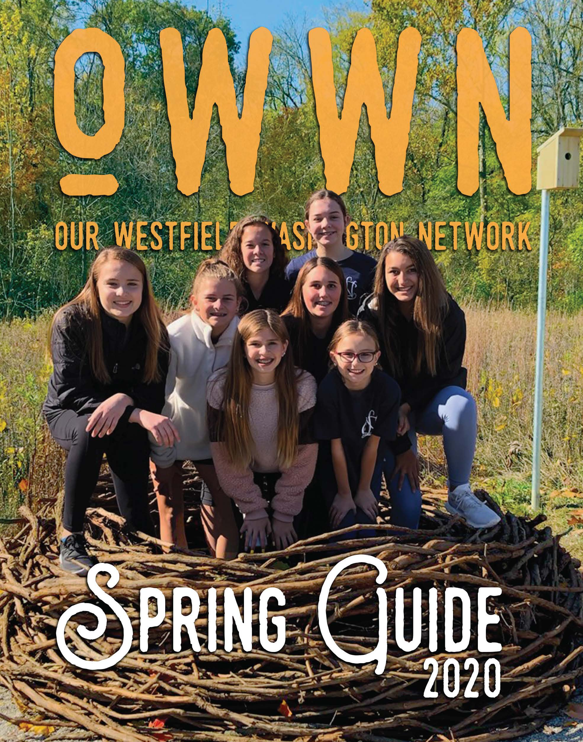 Spring guide 2020 cover